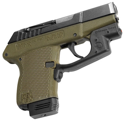 Crimson Trace Laserguard for Kel-Tec P2AT and P32, with Holster, Front  Activation