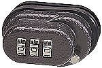 Master Lock Resettable Combination Lock w/Pin Tumbler Security