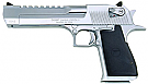 Magnum Research Desert Eagle Mark XIX 50AE Pistol, Polished Chrome
